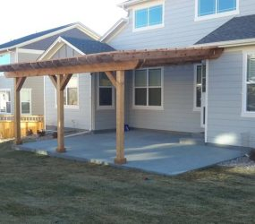 backyard patio construction denver