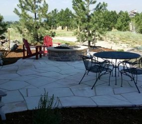 custom patio design backyard landscaping denver