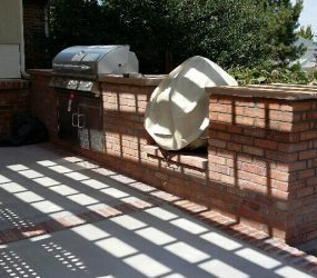 custom brick grill and patio denver