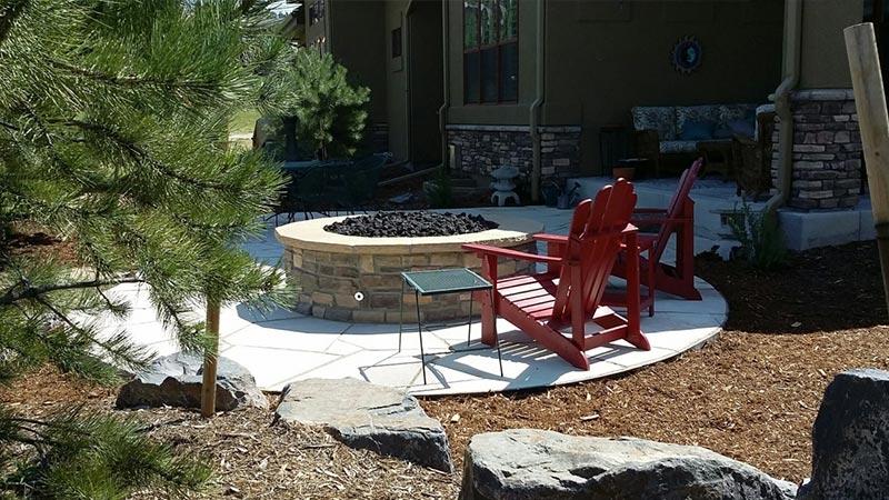 Landscaping Mulch Denver : Custom landscaping landscape contractors denver co