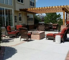 outdoor patio landscape contractor denver