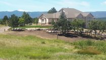 custom home yard landscaping denver