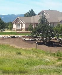 custom home yard landscaping denver