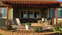 custom patio landscaping design denver