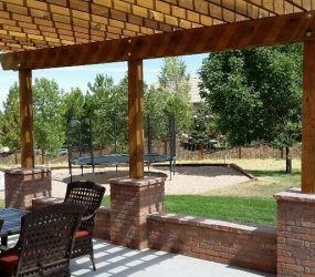 custom patio landscape design denver