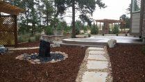 patio and stone walkway landscape contractor denver