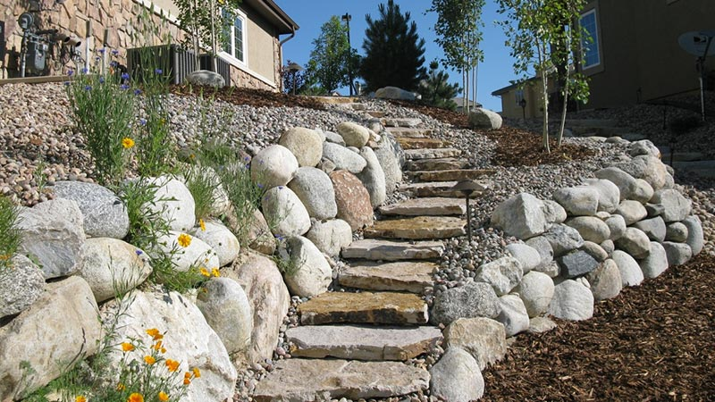 Field Stone Patio Ideas