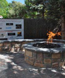 custom landscaping firepit 13