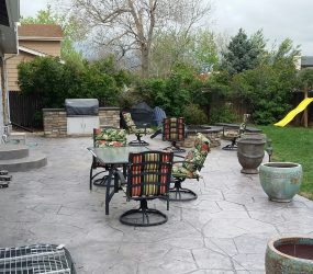 custom landscaping patio 3