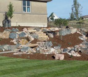 custom landscaping walkway 4