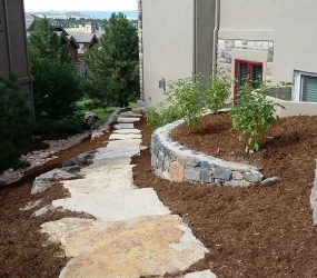 custom landscaping walkway 3